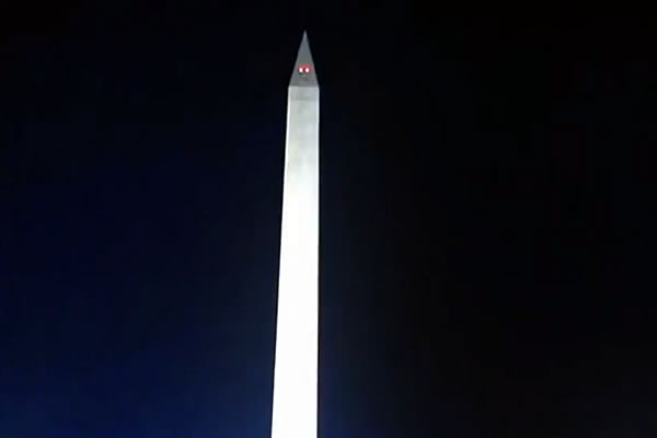 UFO or Spirits at Second Obama Inauguration?