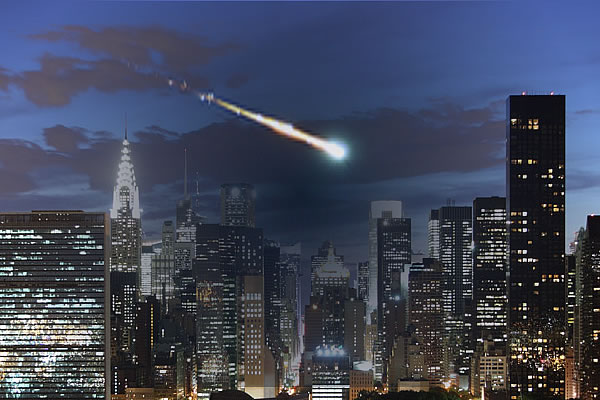 Meteor Over NYC, DC and New England