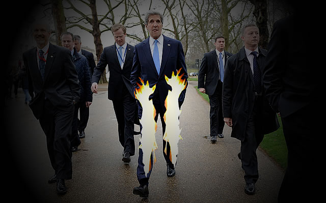 BBC and Kerry on Syria: Pants On FIRE!