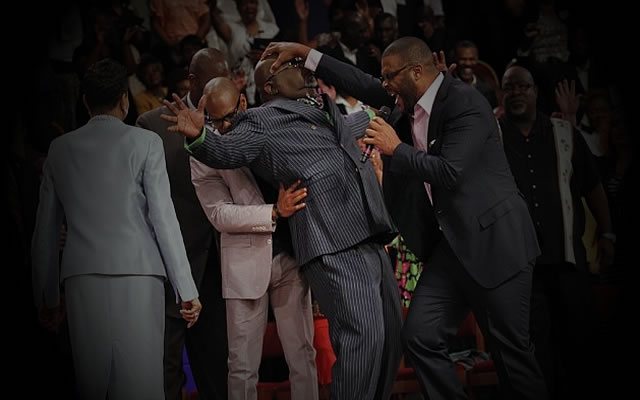 TD JAKES Filled With the Holy Sugar Foot