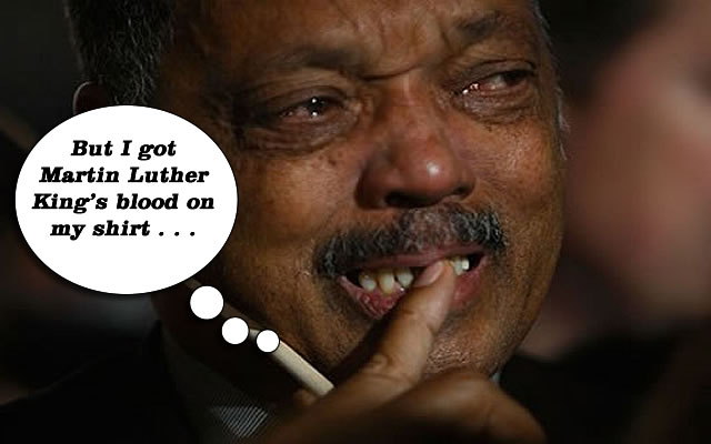 Ferguson Town Folk to Jesse Jackson:GET OUT!