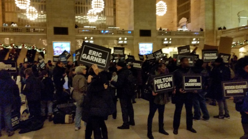 Racial Harmony Drives NYC Protest