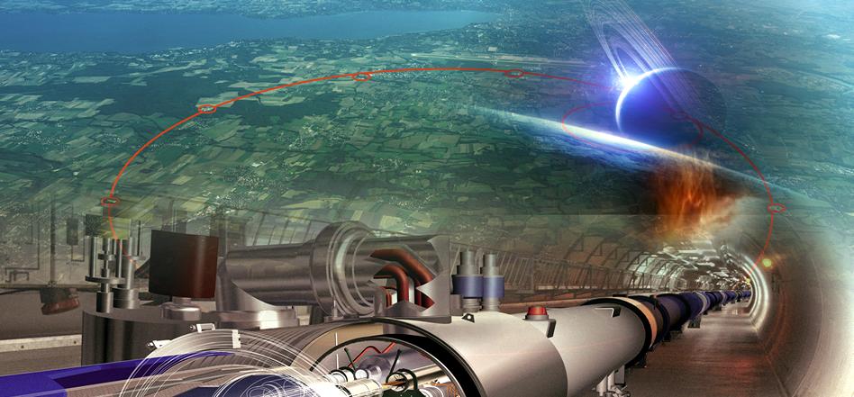CERN was WAITING on SATURN to Start Again!