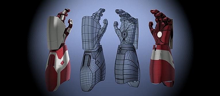 Man Creates Functional Iron Man Gauntlet