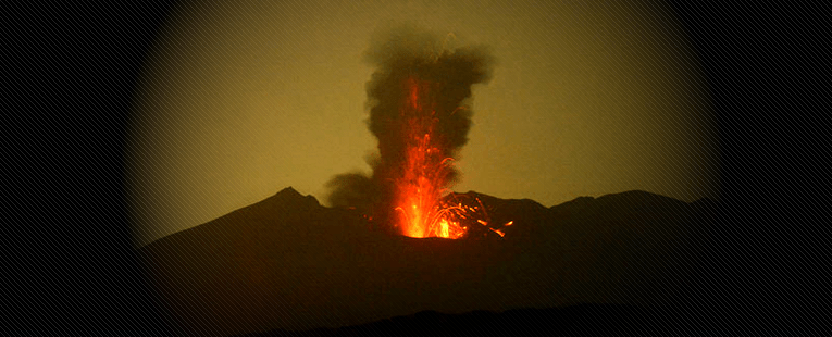 Fire On The Mountain: Fire On Japanese Sakurajima Super Volcano