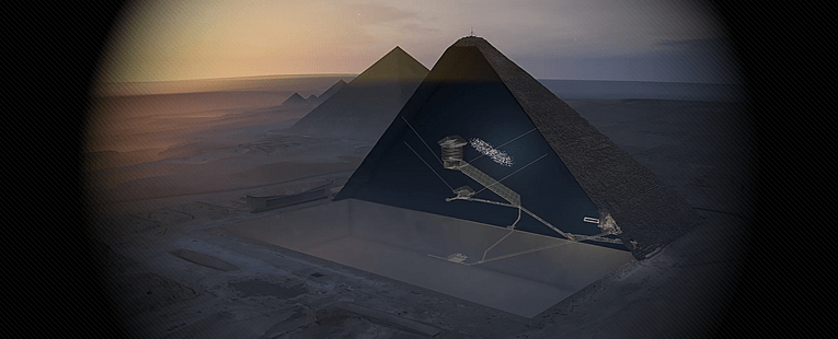 Archaeological Discovery Confirms Part of My High Frequency Pyramids of Giza Theory!