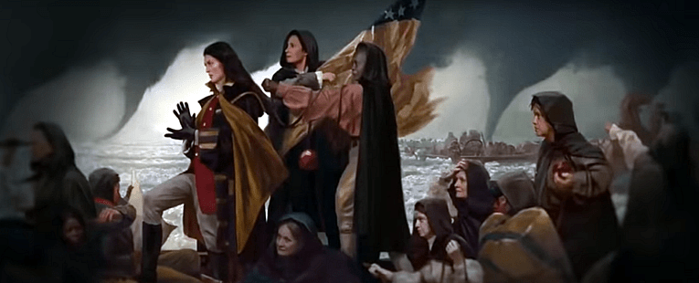 Army Witches Fighting for Freedom