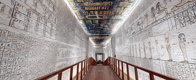 Virtual Tour of Ramesses VI Tomb