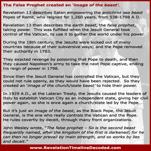 Revelation 13 image of the beast