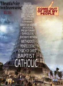 Tower of Babylon Roman Christianity