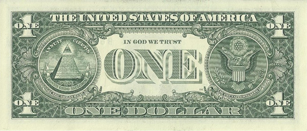 The Great Seal of THE UNITED STATES OF AMERICA One Dollar Bill proclaims the Jesuit's mission for their District of Columbia.