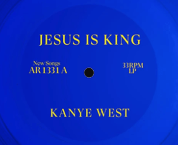 On his Jesus Is King CD, it has the numbers 13 and 33, which are the primary numbers of the Illuminati.