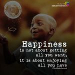"""Happiness Is"" Quotes"