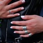 Brede zilveren Bali ringen