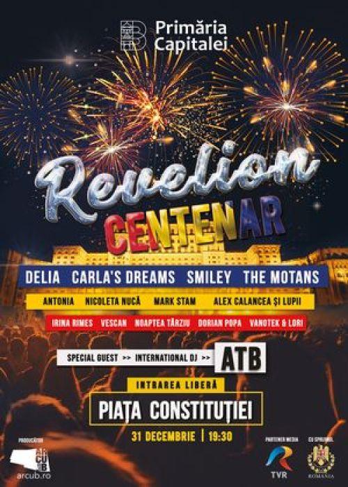 Revelion Centenar 2019 in Piata Constitutiei