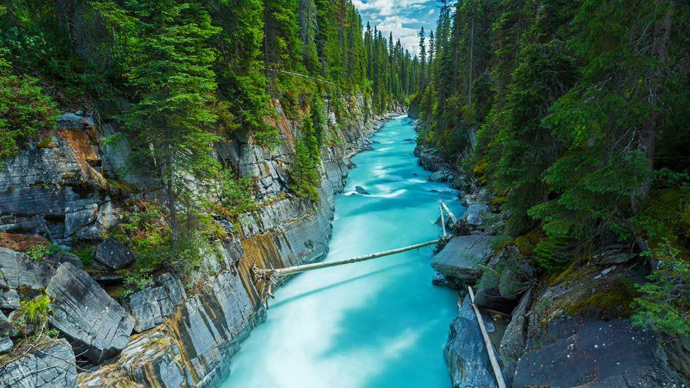 Numa Falls Canada Wallpaper Numa Falls In Kootenay National Park British Columbia