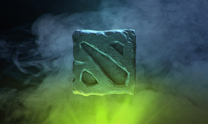 Green Dota 2 Logo Background Wallpaper By Chococruise Revelwallpapers Net