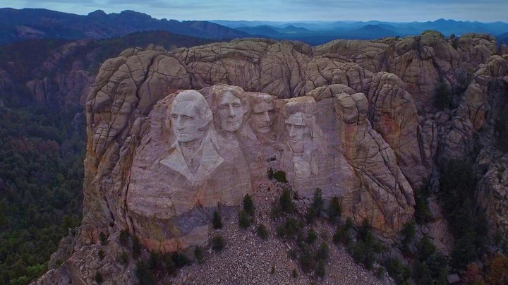 Mount Rushmore In South Dakota Wallpaper By T1000