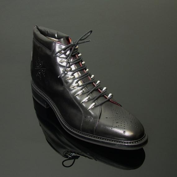 boots à lacets style kandahar