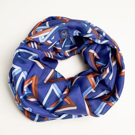 foulard-meilleur-ami-triangle-orange