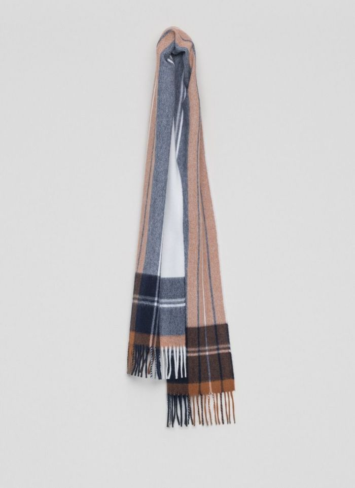 echarpe-laine-bicolore-bleu
