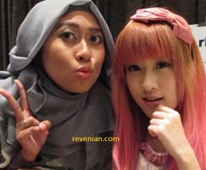 Selfie with Miharu Julie