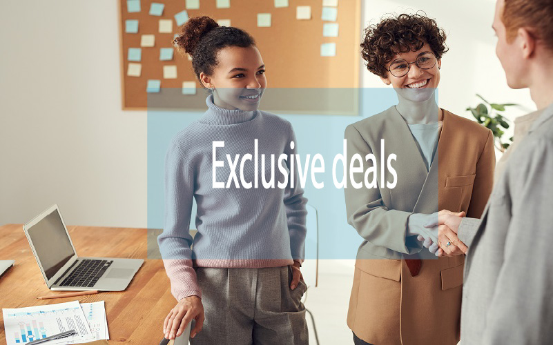 Offer exclusive deals