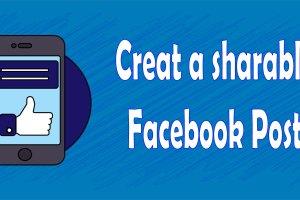 Create a Shareable Facebook post