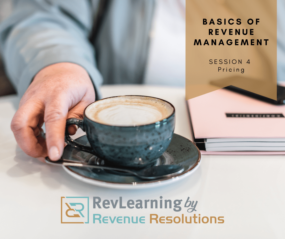Revenue Management Course, Pricing