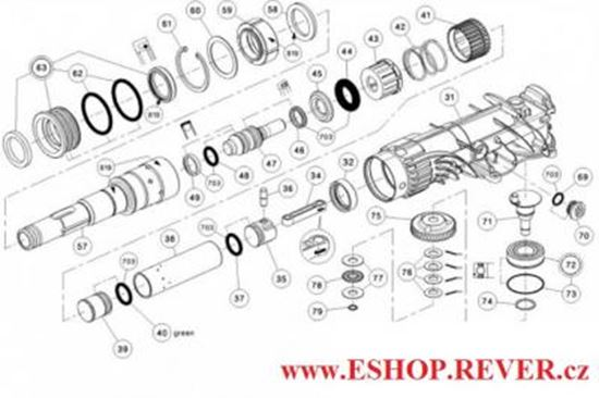Hilti Te 500 Hammer Drill Parts Diagram