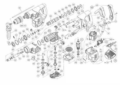 Hilti TE 6-C TE6C TE6 C TE 6 6C TE-6C TE6-C x spare part