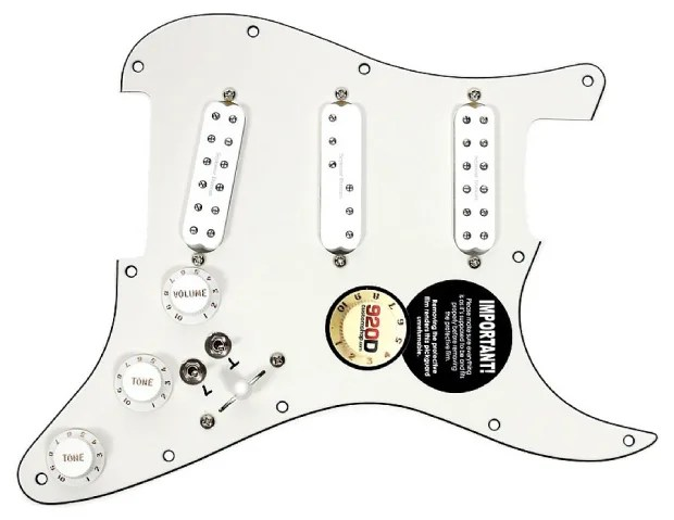 Seymour Duncan SJBJ / SDBR / SL59 Loaded Pickguard