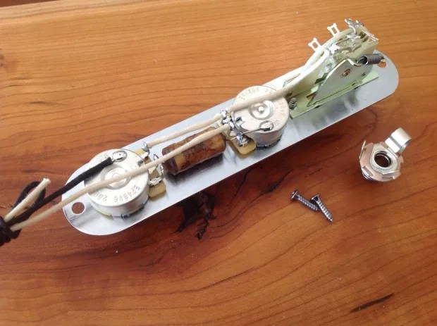 Telecaster Wiring Harness Maximum Upgrade Parts Prewired Harness