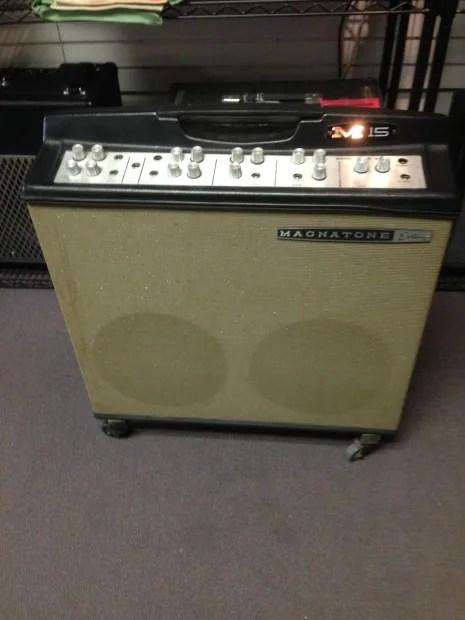 Magnatone Custom M15 Stereo Tube Amp Vibrato Oxford