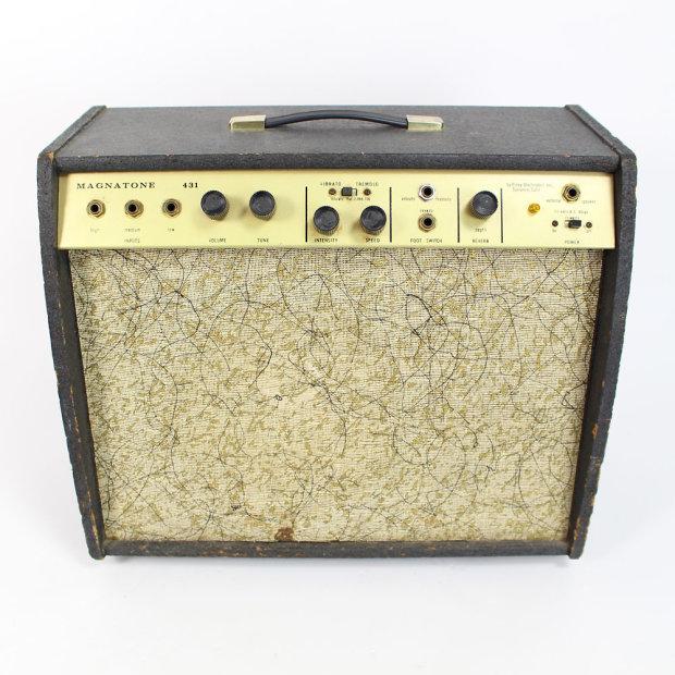 Vintage Magnatone Starlite Model 431 5w 1x10 Tube
