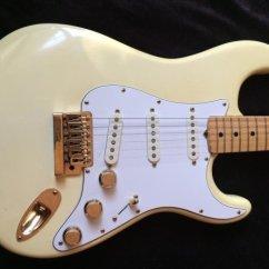 Fender Humbucker Wiring 3 Way Switch Diagram Uk The Strat 1982 Olympic White Gold Hardware Image