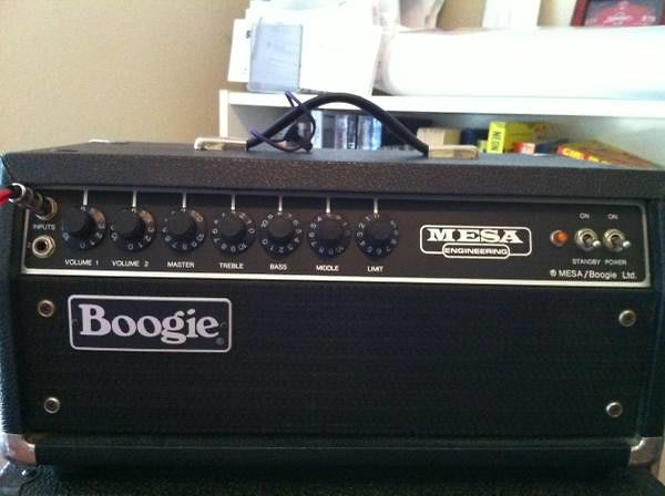Mesa Boogie Son of the Original Boogie SOB 1985 black