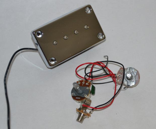 Epiphone EB-0 Bass Guitar Pickup & Wiring Harness
