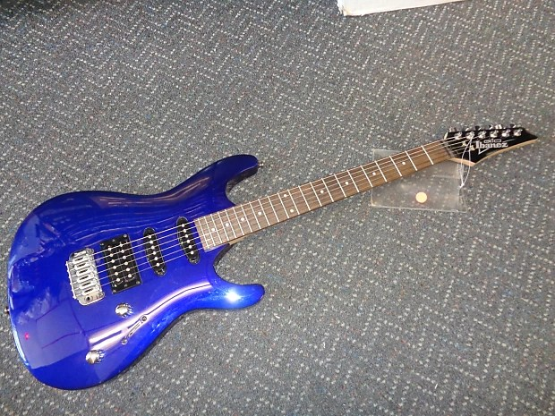 Used Ibanez Gio Gsa60 Electric Guitar Midnight Blue