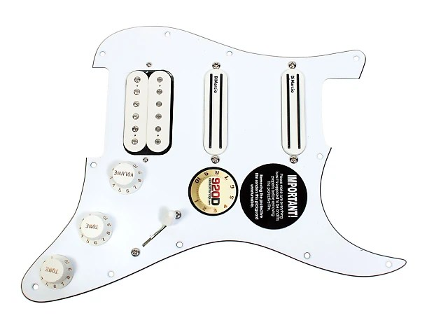DiMarzio Andy Timmons Loaded Strat Pickguard DP224F AT-1