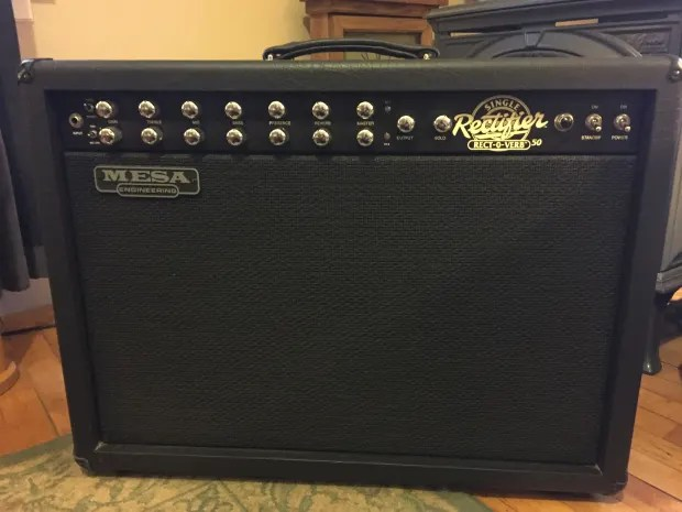 Mesa Boogie Single rectifier Rectoverb 50 combo series 2   Reverb