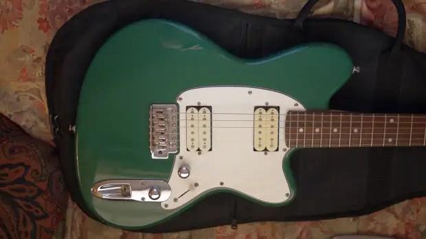 Ibanez Talman Tc220 Green Electric Guitar Humbuckers