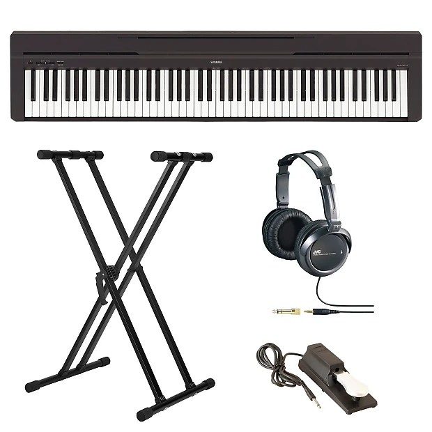 Yamaha P45B Digital Piano with Knox Double X Keyboard