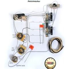 Fender Jaguar Wiring Diagram Pioneer Deh P8600mp Vintage Jazzmaster Kit - Pots Switch Slider | Reverb