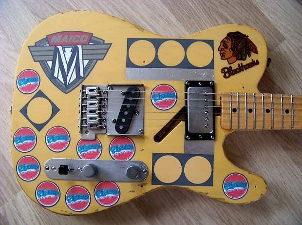 7 Way Wiring Guitar The Tpp Fender Mexican Baja Telecaster Terry Kath Tribute