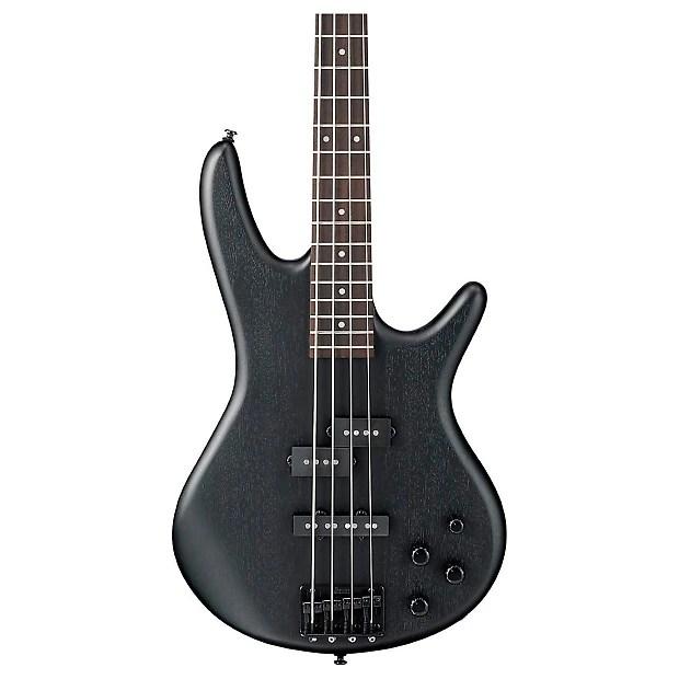 Ibanez Gsr200 Bwk Weathered Black 4 String Bass Guitar