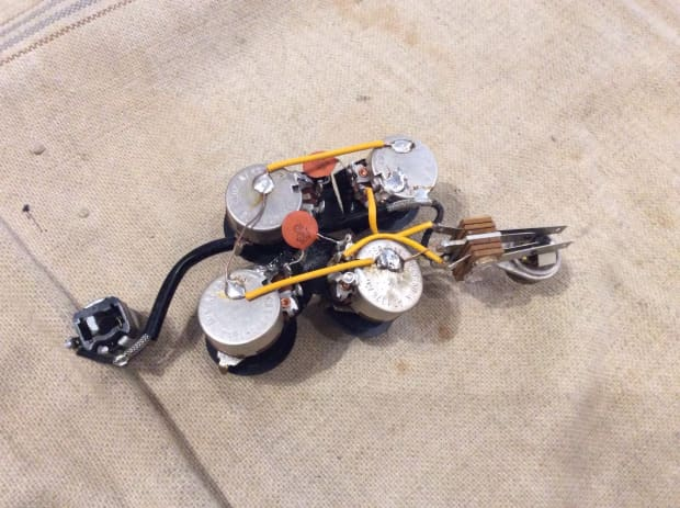 Gibson Sg Wiring