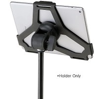 K&M 19717 Tablet Mic Stand Holder 5/8 inch Black