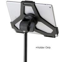 K&M 19717 Tablet Mic Stand Holder 5/8 inch Black | Reverb