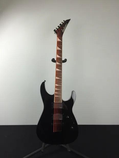 Jackson Slxt Soloist Electric Guitar Black
